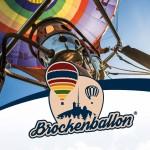 Brockenballon Gutschein Ballonausschnitt