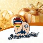 Brockenballon Gutschein weihnachtl Geschaenk